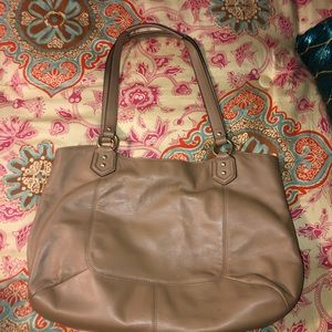 Coach purse. Camel colored.